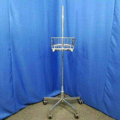 Critikon Medical Patient Monitor Mobile Stand Roll Cart