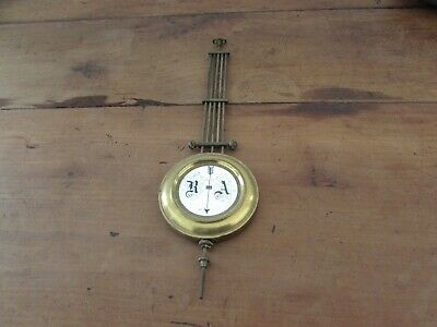 Antique Handl Door Chime Pendulum Clock