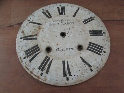 antique dial d pendulum clock eye of beef