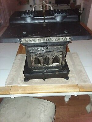 Antique 1884 Adams & Westlake kerosene cast iron cook stove