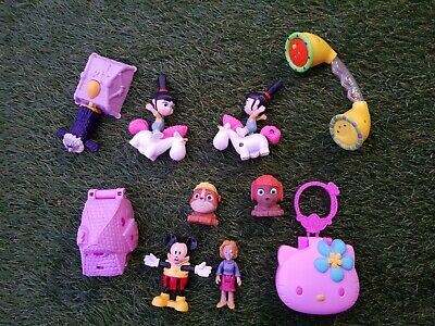 Toys for girls. Bundle of 12 items total. Two toys from Despicable Me movie