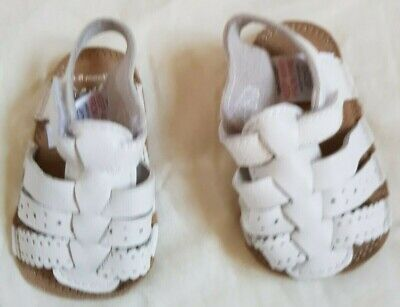 Baby Girls Boys Infant Leather Pram Shoes Sandals from NEXT. Size 3 – 6 months.