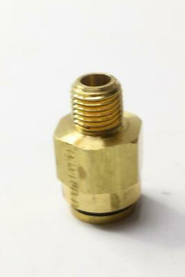 Pack of 5 - Parker KP60787 1/4 NPTF  Brass Push-to-Connect Tube Male Connector