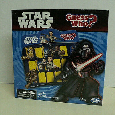 Star Wars Guess Who? Game Disney Hasbro 100% Complete w/ Instructions AUCT#3634