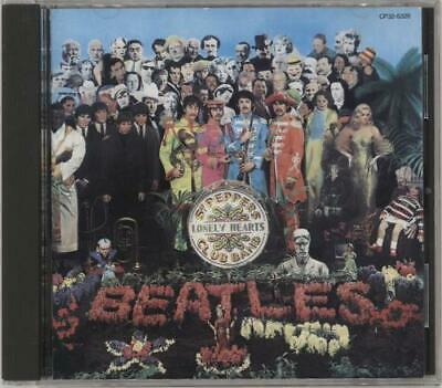 Beatles Sgt. Pepper's Lonely Hearts Club Band Japanese CD album (CDLP)