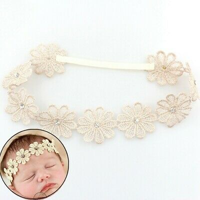 Charm Elastic Wedding Girl Rhinestone Sunflower Hairband Bohemia Baby Headband