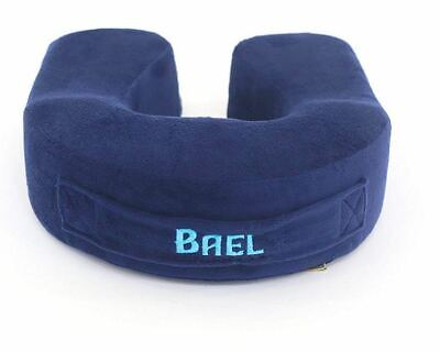 Bael Wellness Travel Neck Pillow Memory Foam Travel Pillow - Therapeutic Support