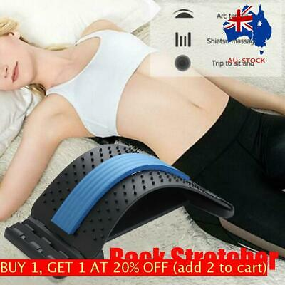 Lumbar Stretcher Back Stretcher Backright Therapuetic Spine Posture Corrector AU