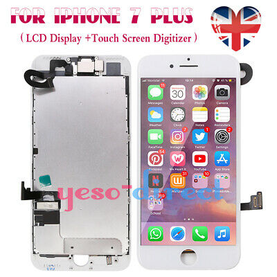 For iPhone 7 Plus Retina LCD Screen Touch Digitizer + Camera Replacement White