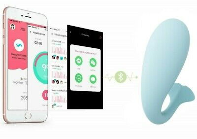 Female Wearable Wireless Smart Phone APP Bluetooth Remote Control Panty Vibrater