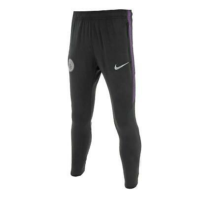 Junior Nike Manchester Cty FC Dri-Fit Squad Pants Black/Purple 894410 014