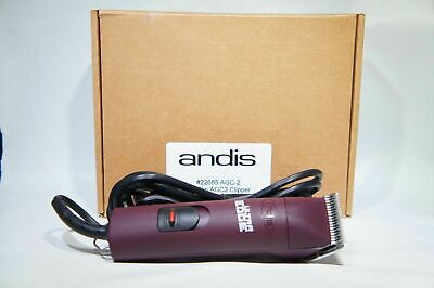 Andis UltraEdge 22685 AGC-2 Super 2-Speed Detachable Blade Clipper Burgundy