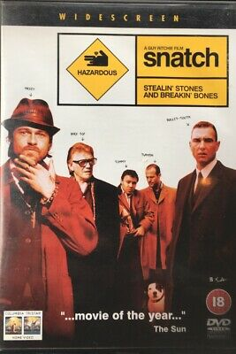 SNATCH BRAD PITT JASON STATHAM GANGSTER ICONIC CANVAS PRINT PICTURE Art Williams