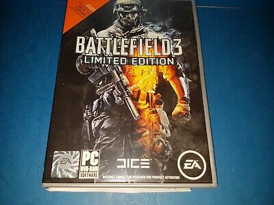 Battlefield III Limited Edition PC DVD ROM In VGC