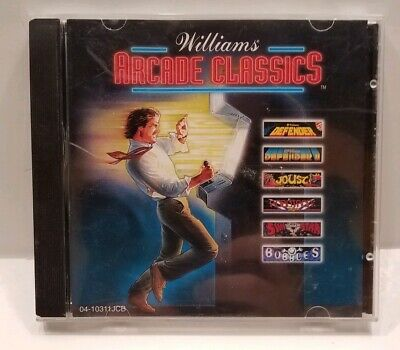 Williams Arcade Classics PC RARE GAME Joust Defender Sinistar Bubbles