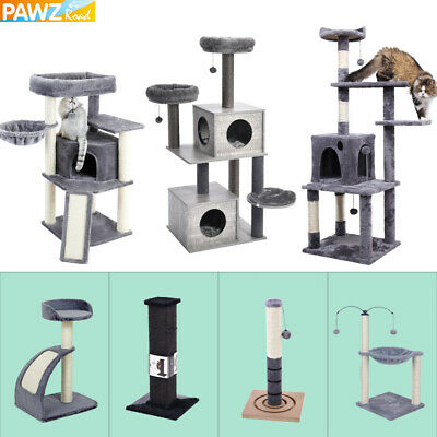 Cat Tree Scratching Post Scratcher Tower Climbing Activity Centre Bed Furniture