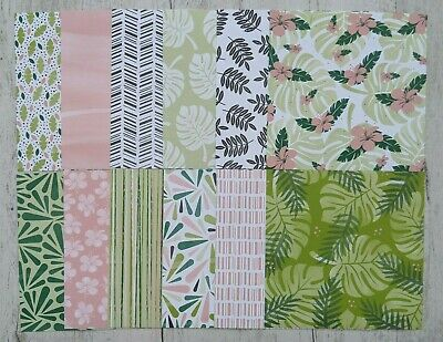 "Stampin' Up! Tropical Escape Designer Series Paper - 12 Sheets 6"" x 6"""