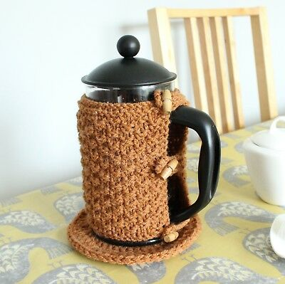 Handmade Coffee Pot Cosy and Stand