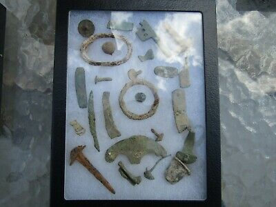 Fantastic Rare Lot Ancient Bronze And Iron Artifacts