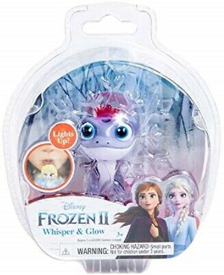 Disney Frozen 2 II Whisper & Glow Bruni the Fire Salamander Lizard NEW