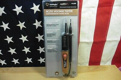 Voltage Tester Southwire 41150S Electrician quality 6-240V AC DC Brand New