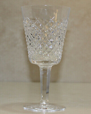 Waterford Crystal Stemware no box Alana Water Goblet
