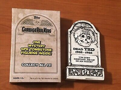 2019 Garbage Pail Kids Revenge Oh the Horror-ible DEAD TED Tombstone GPK