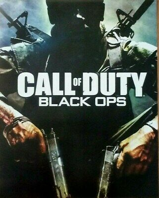 CALL OF DUTY BLACK OPS VIDEO GAME POSTERS TWO NEW SIZE 16x20 inch
