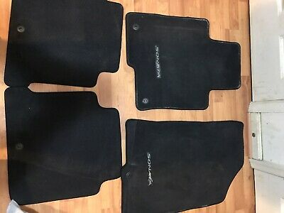 Audi Genuine Accessories Set of 2 Genuine Audi Accessories 4B1061225ED92J Twist Front OE Carpeted Floor Mat,