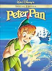 Peter Pan Special Edition DVD Walt Disney New Sealed Movie Classic Rated G