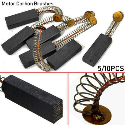 Drill Electric Grinder Replacement Generic Carbon Brushes Motors Spare Parts