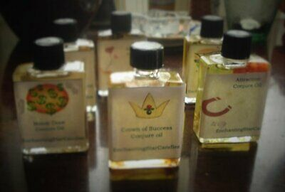 Crown of Success Conjure Oil - Hand Blended