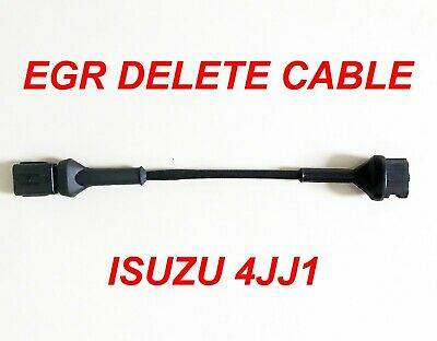 EGR DELETE CABLE RA7 Rodeos, RC Colorados, MUX and D-Max with the 4JJ1 engine
