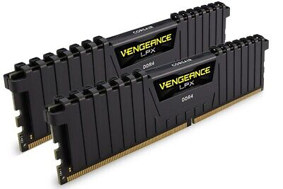 Corsair Vengeance LPX 32GB (2x16GB) DDR4 3200MHz C16 Desktop Gaming Memory Bl...