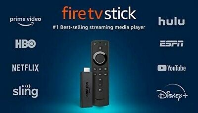 Fire TV Stick streaming media player with Alexa built in. HD 2019 model