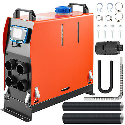 12V 5KW Diesel Air Heater All in One Display Lcd per Auto Barca Riscaldamento