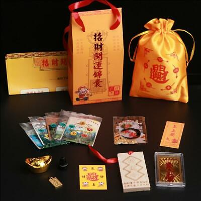 2* Feng Shui Bring Good Lucky Increase Wealth FU Bag 2020 Chinese Amulet Mascot