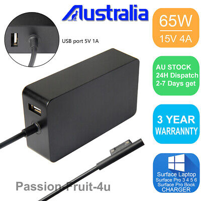Charger Power Supply For Microsoft Surface Pro 3 4 5 6 X Surface Go Book Laptop