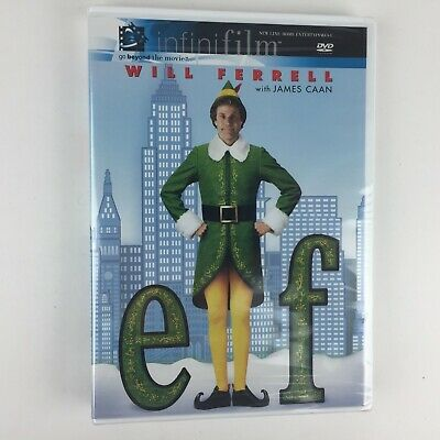 Elf (DVD, 2004) Infinifilm edition  NEW & SEALED