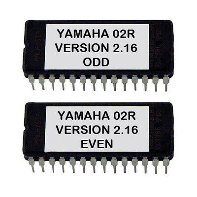 Yamaha 02r - Version 2.16 Firmware OS Upgrade Update Eprom for O2R Mixer Record