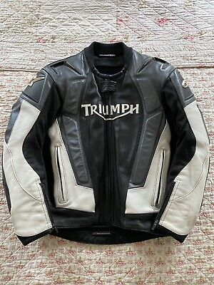 Triumph Factory Two Piece Leather Suit Rare Great Condition - Size 40