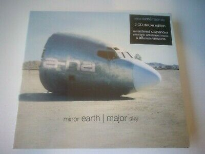 A-Ha - Minor Earth Major Sky - 2 CD DELUXE EDITION NEW AND SEALED 2019.