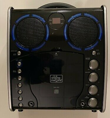 PORTABLE Karaoke Center - The Singing Machine with Microphone & CD set (SML-383)