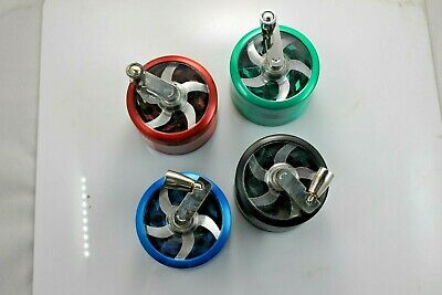 Tobacco Herb Spice Grinder Herbal Alloy Smoke Metal Chromium Crusher With Handle
