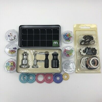 Making Memories Grommet Tool Kit And Extra Eyelets (A)