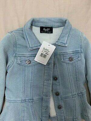 Bardot junior Denim Jacket Size AUS 3 or US 2