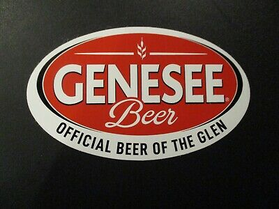 GENESEE BEER Light genny Dundee nos STICKER decal craft beer brewery brewing