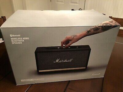 Marshall 1002485 Stanmore II 80W Wireless Bluetooth Speaker - Black