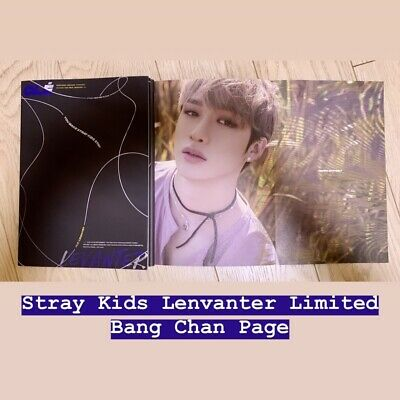 Bang Chan STRAY KIDS Clé Cle LEVANTER Album Official CD Photobook Limited Ver