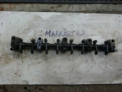 Land Rover Series 2.25 Diesel Rocker Shaft and Rockers Push Rods